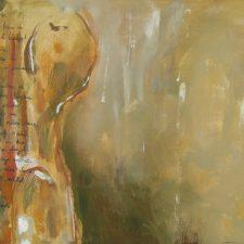 Two 2010, oil on canvas, 70 cm x 50 cm x 4.5 cm unframed