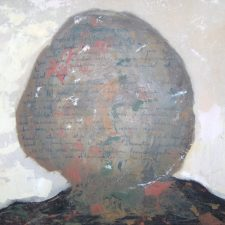 Self-Portrait 2011, oil on canvas, 70cm x 50.5 cm x 4.5 cm unframed