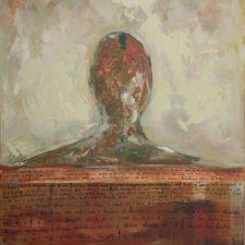 portret 2010, oil on canvas, 80 cm x 40.5 cm x 4.5 cm unframed