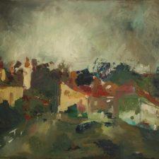 Citadel 2013, oil on canvas, 49 cm x 32.5 cm x 4.5 cm unframed